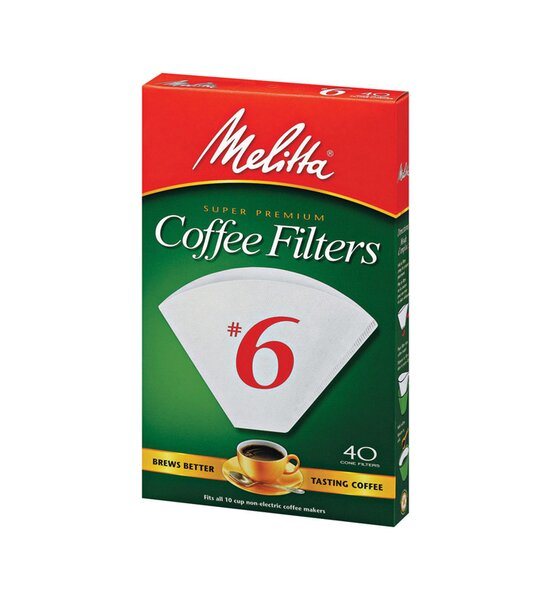 10 Cup Cone Coffee Filter by Melitta