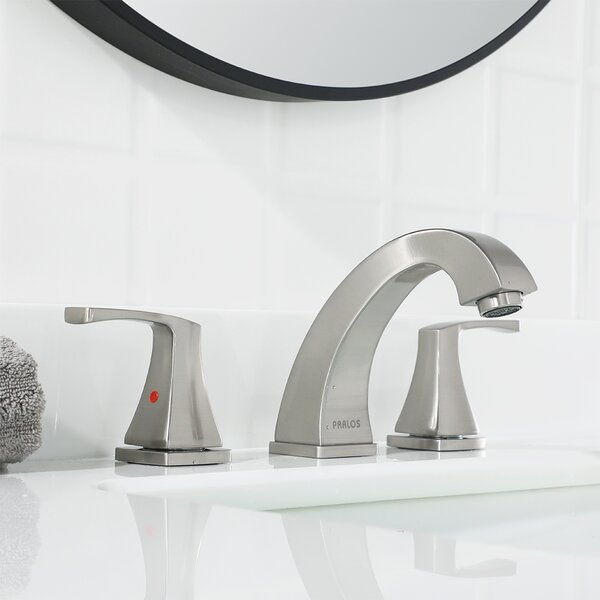 Widespread 2 Handles Centerset Bathroom Faucet with Drain Assembly by Parlos Home Parlos Home