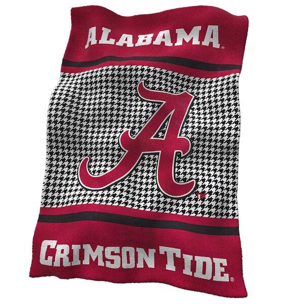 Alabama Houndstooth Ultra Soft Throw by Logo Brands