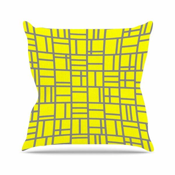 Trebam Kutije V.4 Outdoor Throw Pillow by East Urban Home