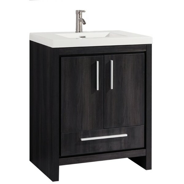 Peiffer Modern 30 Single Bathroom Vanity Set by Orren Ellis