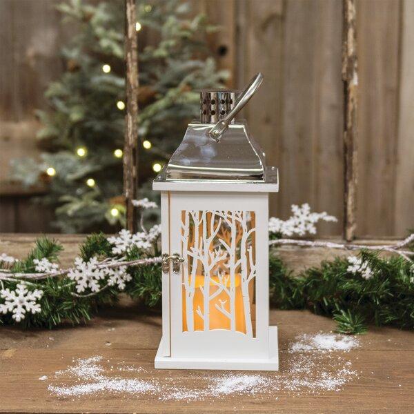 Scene Wood Lantern by Millwood Pines