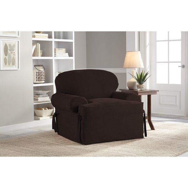 T-Cushion Armchair Slipcover by Serta