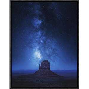 'Monument Milky Way' by Juan Pablo De Framed Photographic Print by Global Gallery