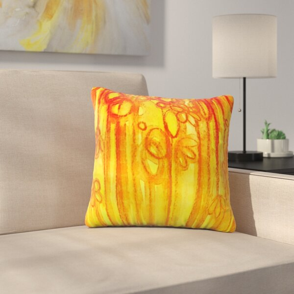Summer Sentiments by Ebi Emporium Outdoor Throw Pillow by East Urban Home