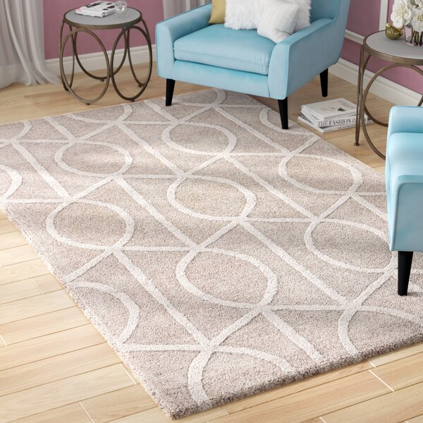Byrd Hand-Tufted Gray Area Rug by Willa Arlo Interiors