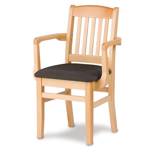 Bulldog Solid Wood Dining Chair by Holsag