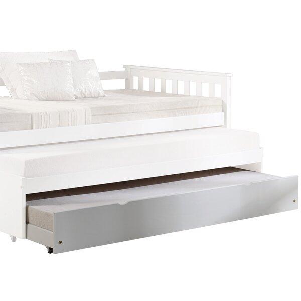 Ece Wooden Twin Platform Bed by Ebern Designs