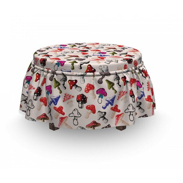 Creative Ottoman Slipcover (Set Of 2) By East Urban Home