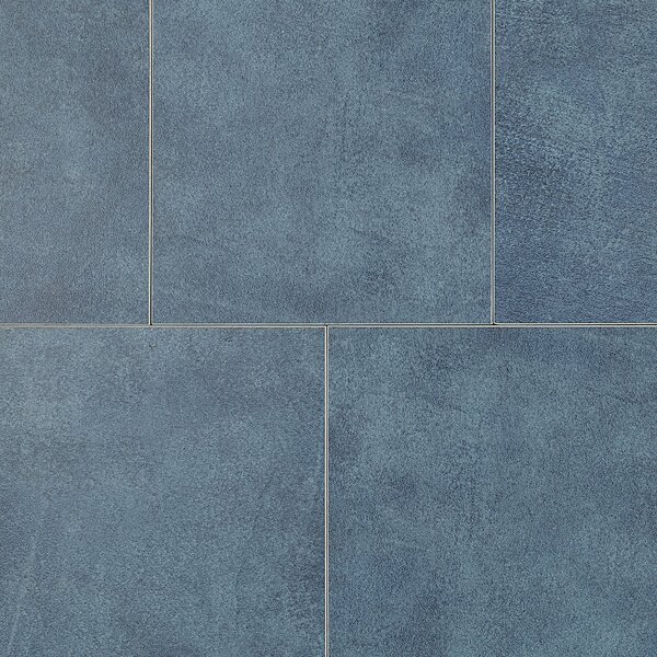 Hampstead 6.5 x 6.5 Porcelain Field Tile in Ocean by Itona Tile