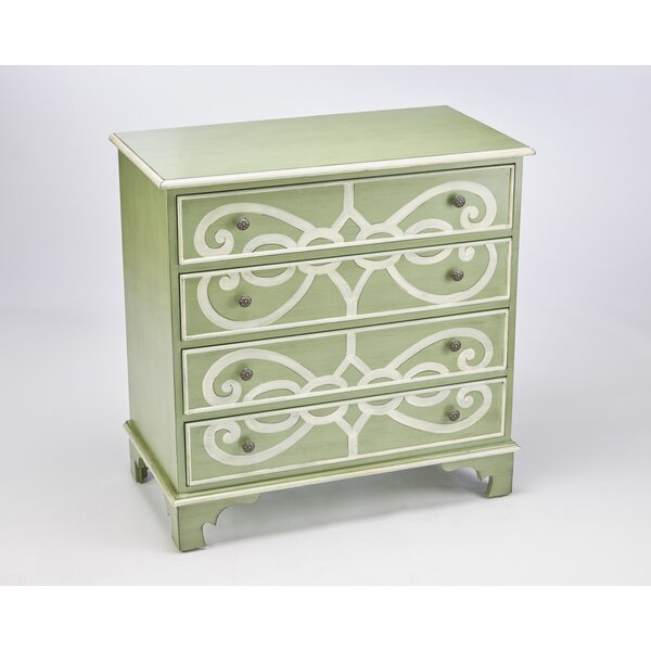 Jacqueline 4 Drawer Accent Chest by Alcott Hill Alcott Hill