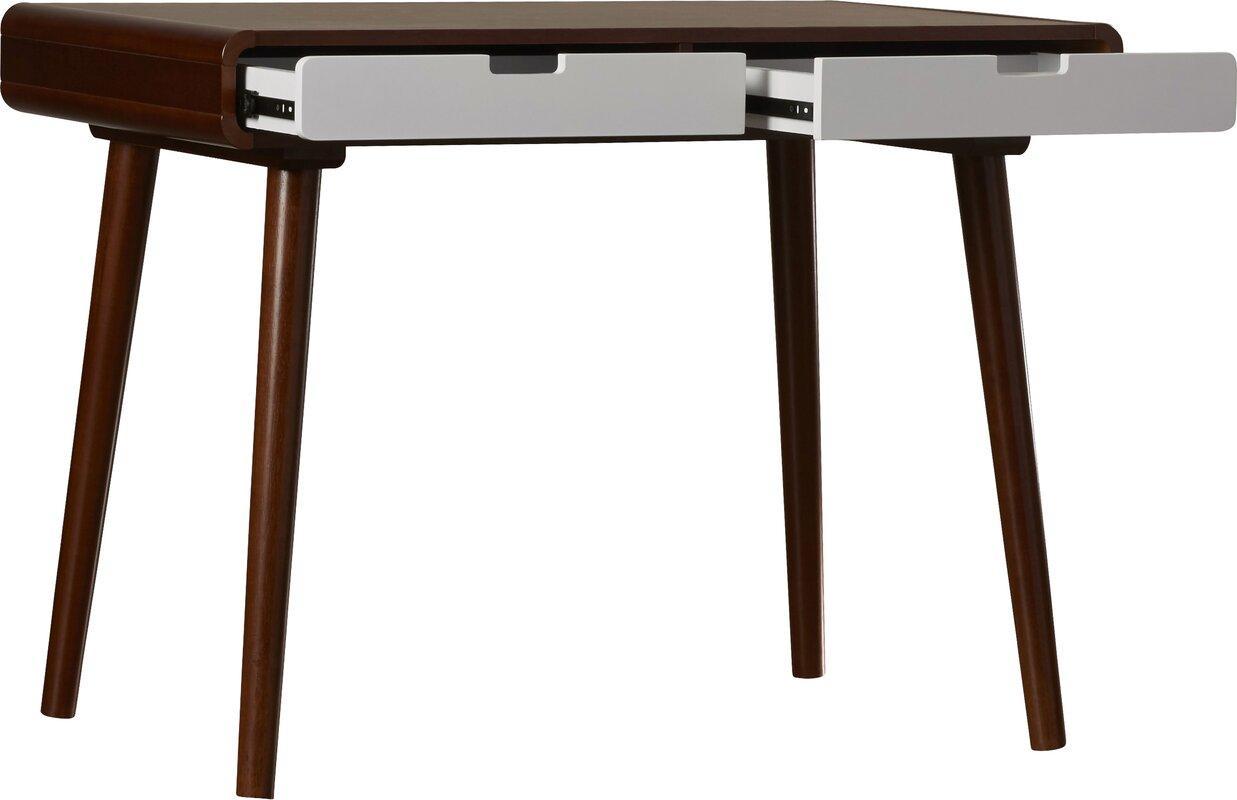 Minimalist Flatware Soren Writing Desk Amp Reviews Allmodern