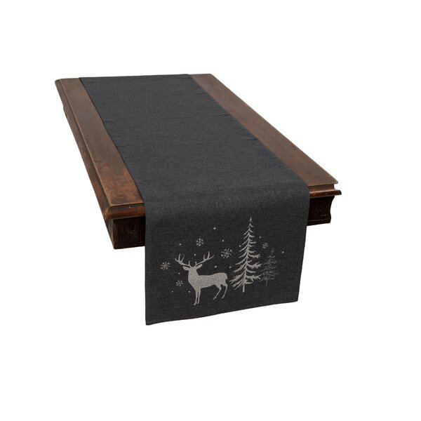 Adlai Deer Table Runner by The Holiday Aisle