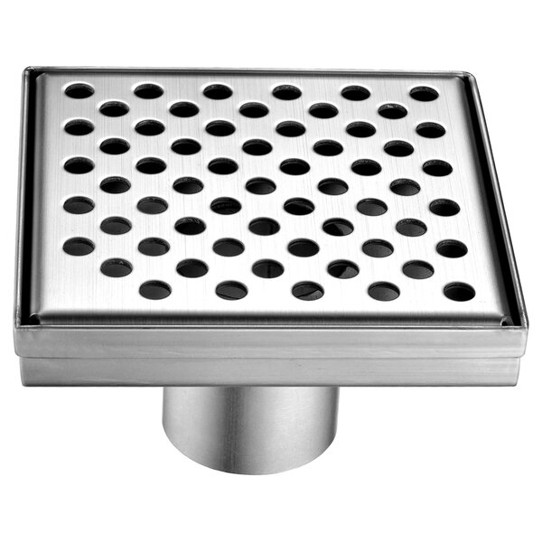 Rhone River 2 Grid Shower Drain by Dawn USA