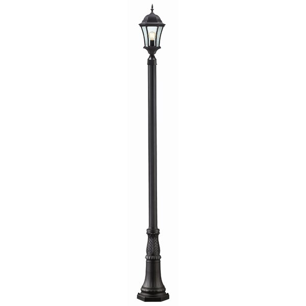 Lyles Outdoor 1-Light 118 Post Light by Astoria Grand