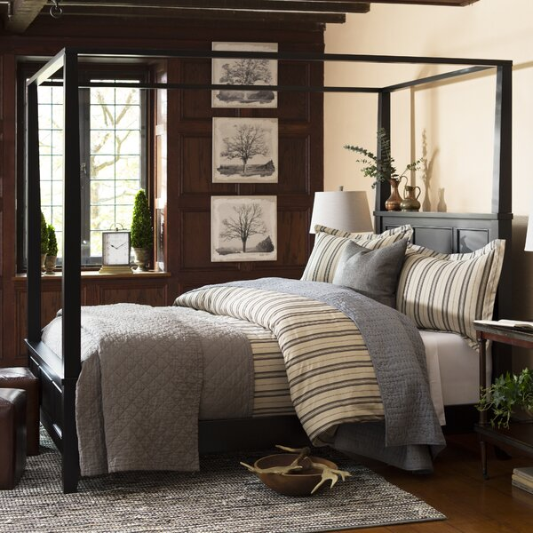 Cusick Canopy Bed by Three Posts