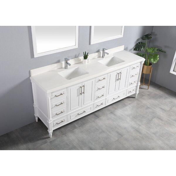 Ravenscroft 84 Double Bathroom Vanity Set