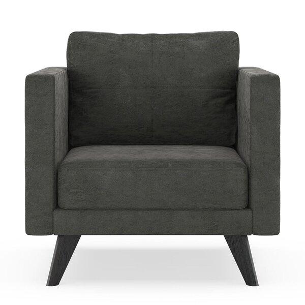 Crosslin Armchair by Corrigan Studio