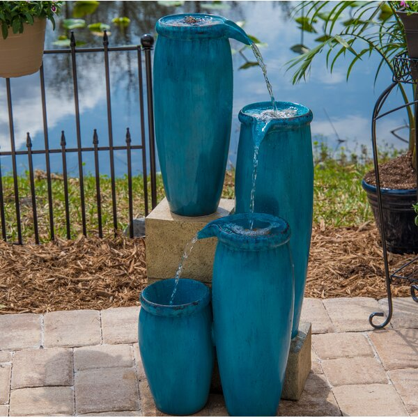 Resin Caisson Indoor/Outdoor Floor Fountain by Wildon Home ®
