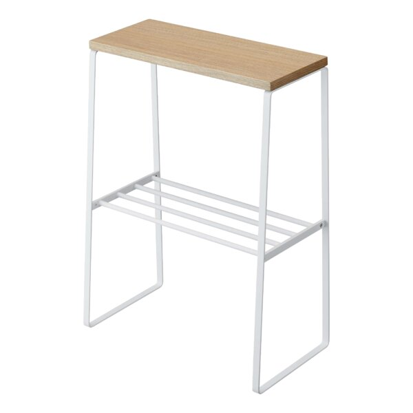 Tosca Solid Wood 4 Legs End Table By Yamazaki Home