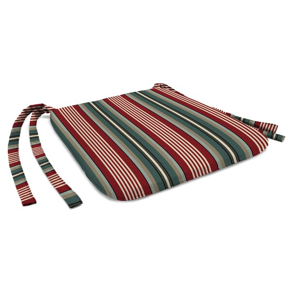 Indoor/Outdoor Dining Chair Cushion by Charlton Home