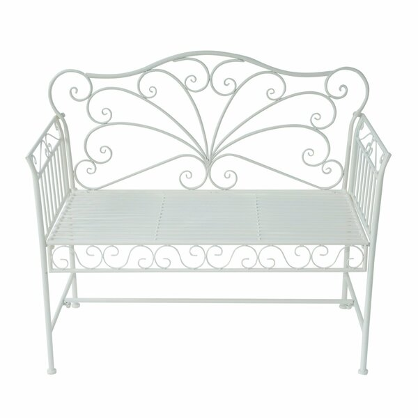 Ashly Antique Cast Iron Garden Bench by August Grove August Grove