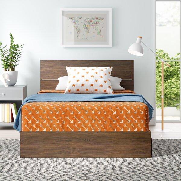 Bourquin Storage Platform Bed by Mack & Milo