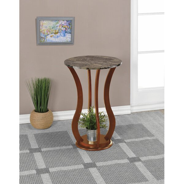 Glencoe End Table by Fleur De Lis Living