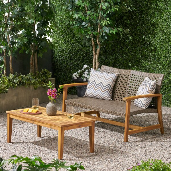 Spann 2 Piece Sofa Seating Group by Bayou Breeze Bayou Breeze