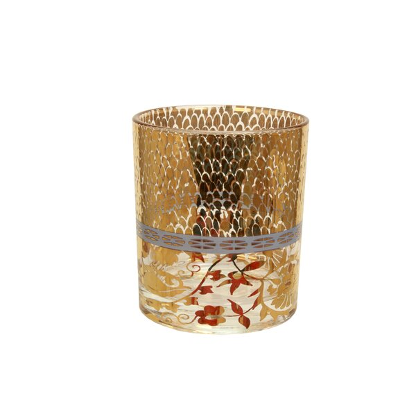 Patina Vie Coco Rocks 15 oz. Old Fashioned Glass (Set of 4) by Patina Vie