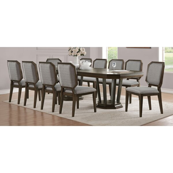 Bloomington 11 Piece Drop Leaf Dining Set by Foundry Select