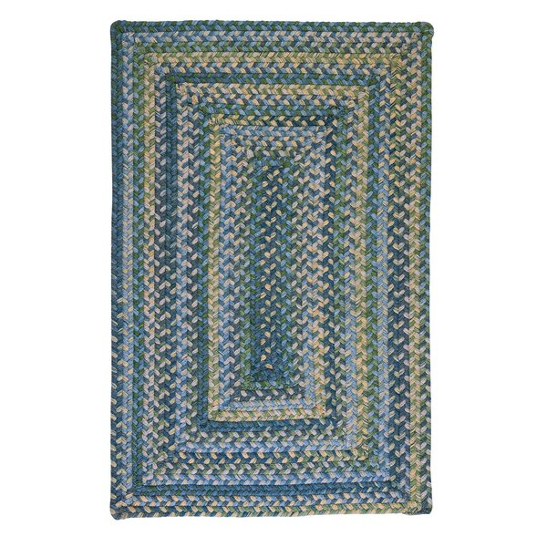Ridgevale Whipple Green Area Rug by Colonial Mills