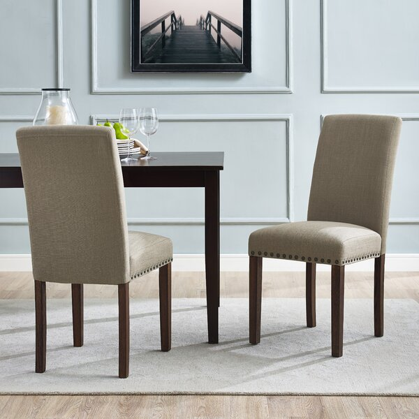 Santillo Upholstered Dining Chair (Set of 2) by Charlton Home