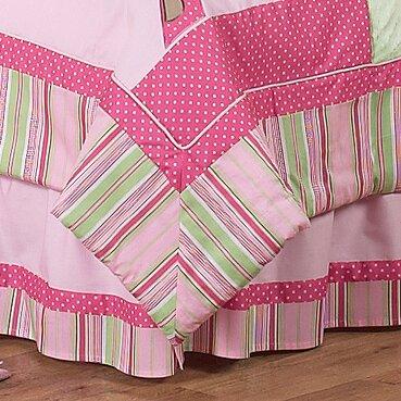 Jungle Friends Queen Bed Skirt by Sweet Jojo Designs