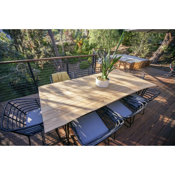 Exo 7 Piece Teak Dining Set with Cushions by Harmonia Living