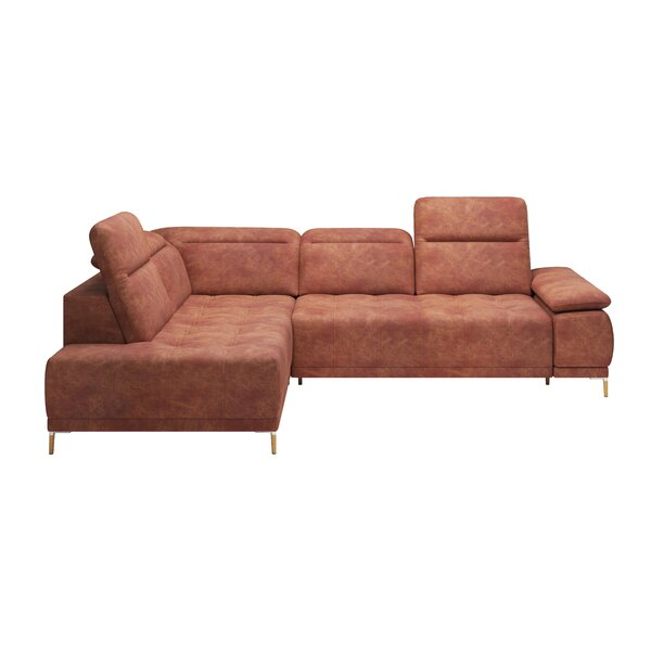 Shannon Reclining Sectional by Orren Ellis Orren Ellis