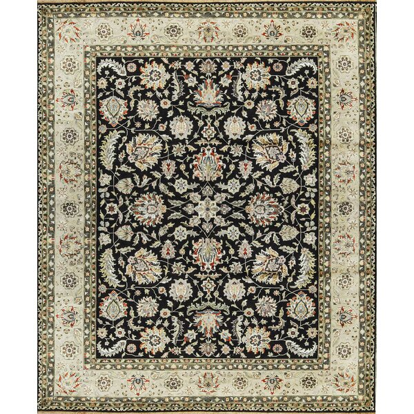 One-of-a-Kind Hand-Knotted Brown/Ivory Indoor Area Rug by Bokara Rug Co., Inc.