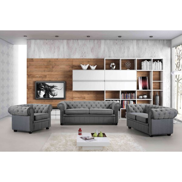 3 Piece Living Room Set by Velago