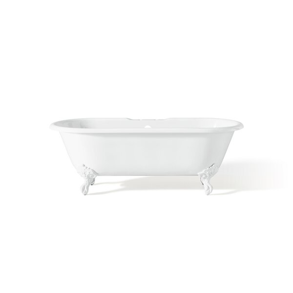 Regal 68 x 31 Soaking Bathtub with Flat Area For Faucet Holes by Cheviot Products