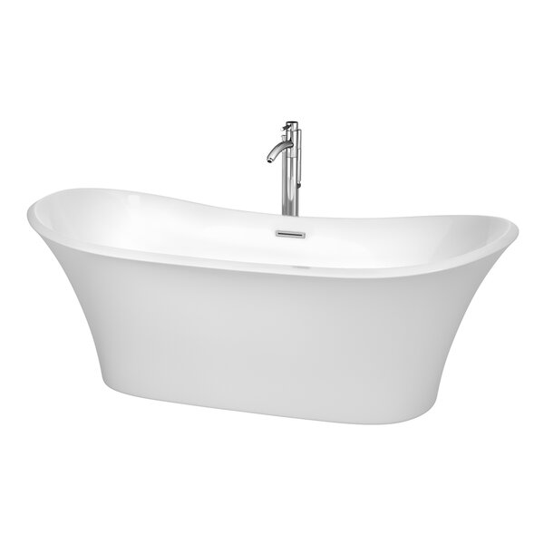 Bolera 71 x 31.5 Soaking Bathtub by Wyndham Collection