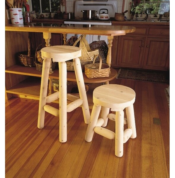 Onion Creek 2 Piece Bar Stool Set By Loon Peak by Loon Peak 2019 Sale