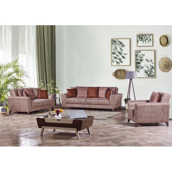Chestle 3 Piece Sleeper Living Room Set by Red Barrel Studio Red Barrel Studio