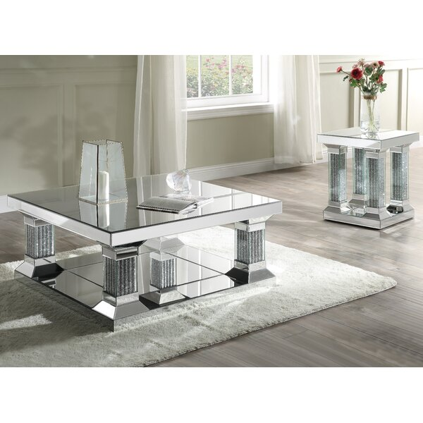 Vanpelt 2 Piece Coffee Table Set By Rosdorf Park