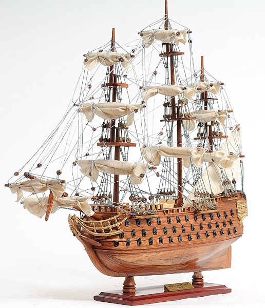 Small Victory Model Ship by Old Modern Handicrafts