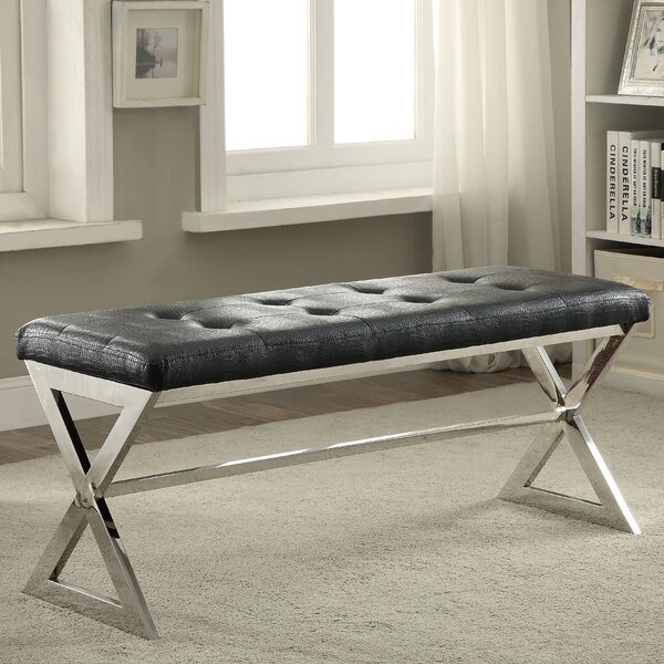 Agathe Upholstered Bench by Willa Arlo Interiors