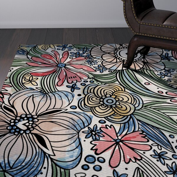 Natahsa Indoor/Outdoor Area Rug by Latitude Run