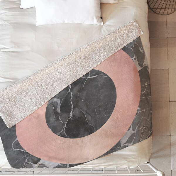 Marble Blanket by East Urban Home