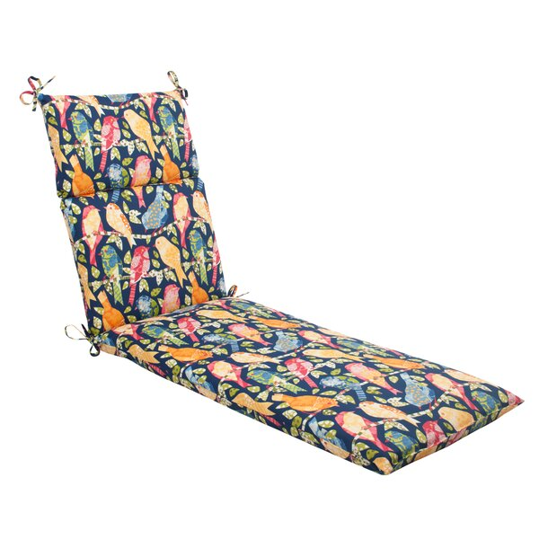 Ash Hill Indoor/Outdoor Chaise Lounge Cushion by Pillow Perfect