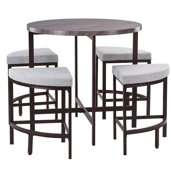 Trever Kitchen 5 Piece Dining Set by Red Barrel Studio