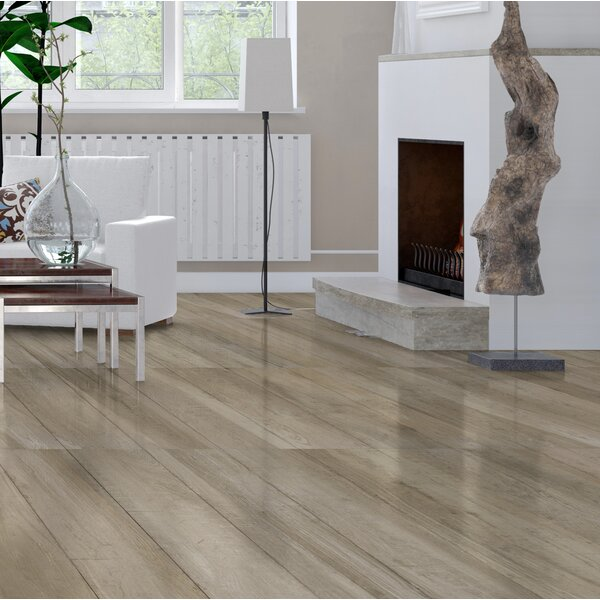 High Sierra 9 x 35 Porcelain Wood look Tile in Beige by Tesoro